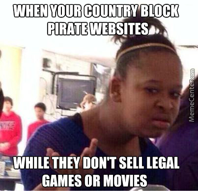 You Are Not Allowed You Pirate Or Buy Legal Games