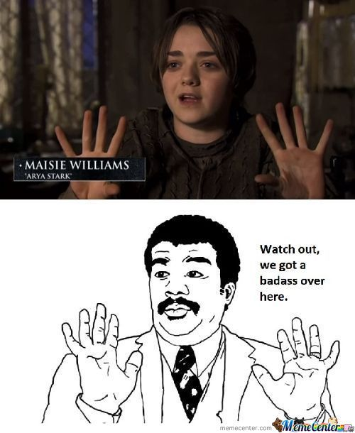 You Are One Arya, You Are One
