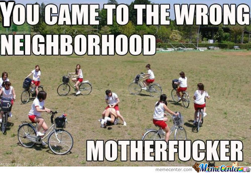 You Came To The Wron Neghborhood