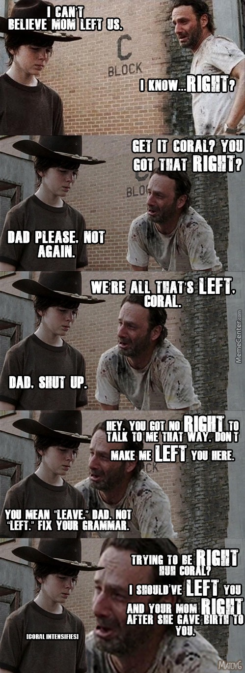 You Can Never Have Enough Coral Memes. Never!