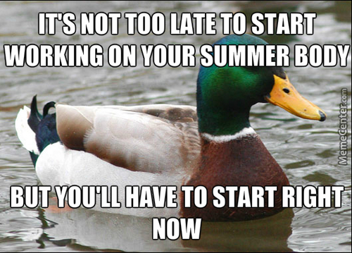 You Can Start Working Out For Summer 2016!
