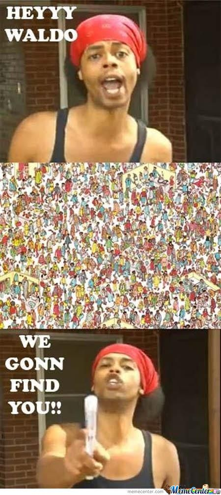You Can't Hide Waldo!