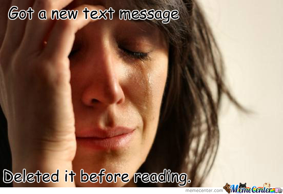 You Got A New Text Message!!!