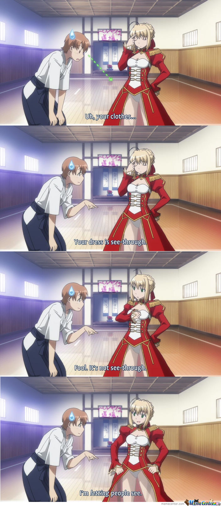 You Gotta Love Saber Nero