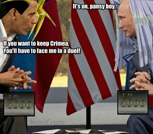 You Just Activated My Trap Card, Putin!