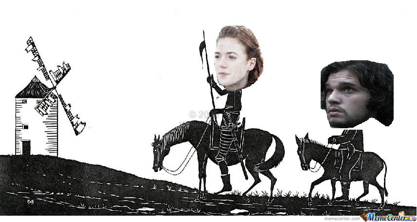 You Know Nothing, Jon Quixote