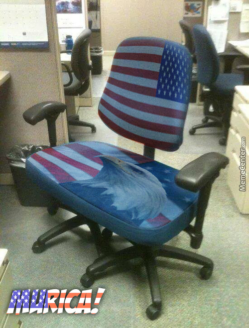 You Know Who In The Office Is Murican :p