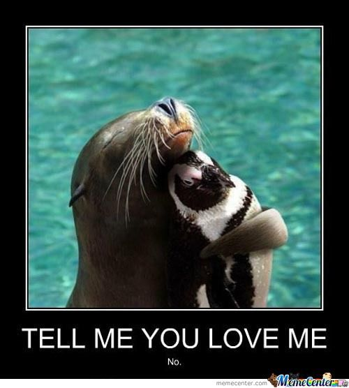 You Loves Me. You Know You Do.