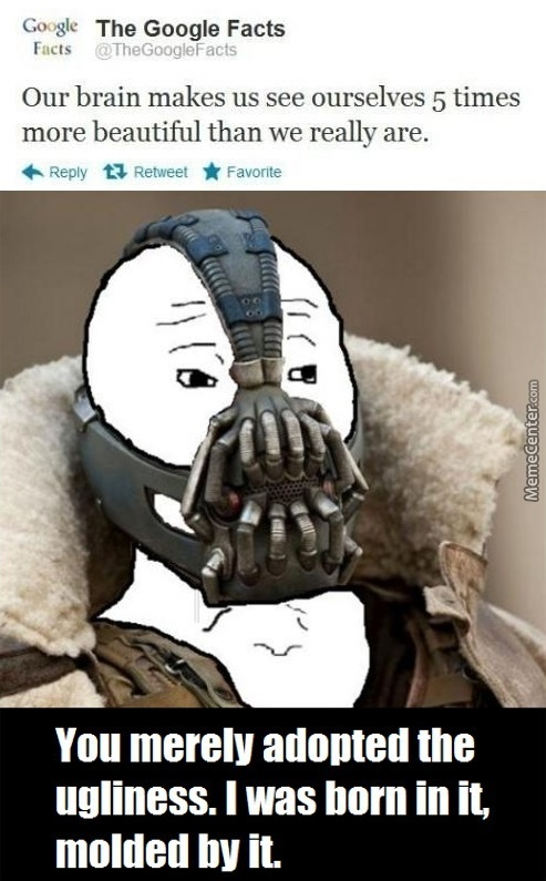 You Merely Adopted The Ugliness.