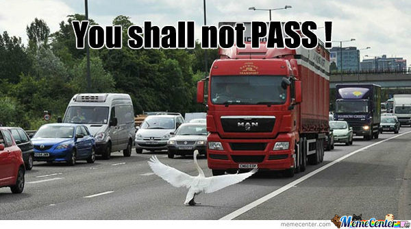 You Shall Not Pass !