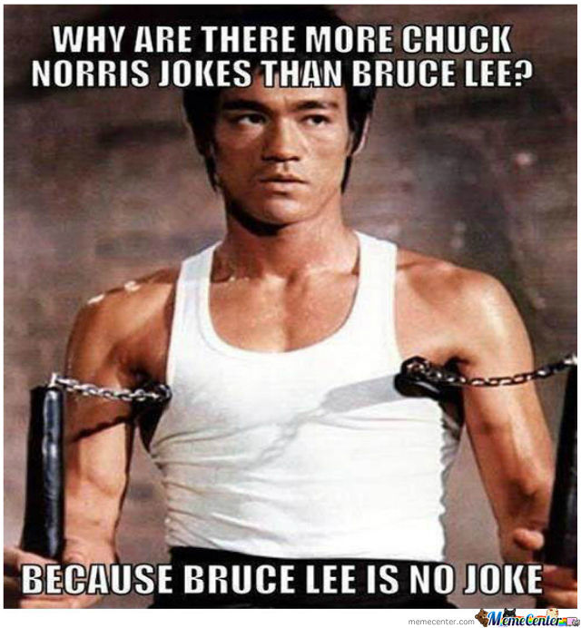You The Man Bruce!
