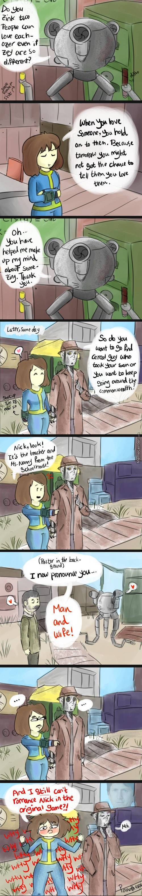 You Though I Had Forgotten Nick And Fallout!? You Were Wrong! >:d