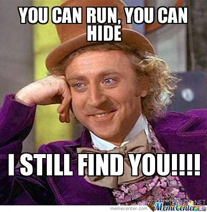 You Wanna Hide
