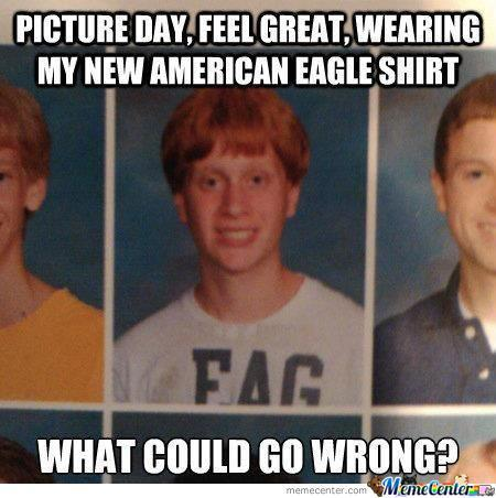 Young Bad Luck Brian?