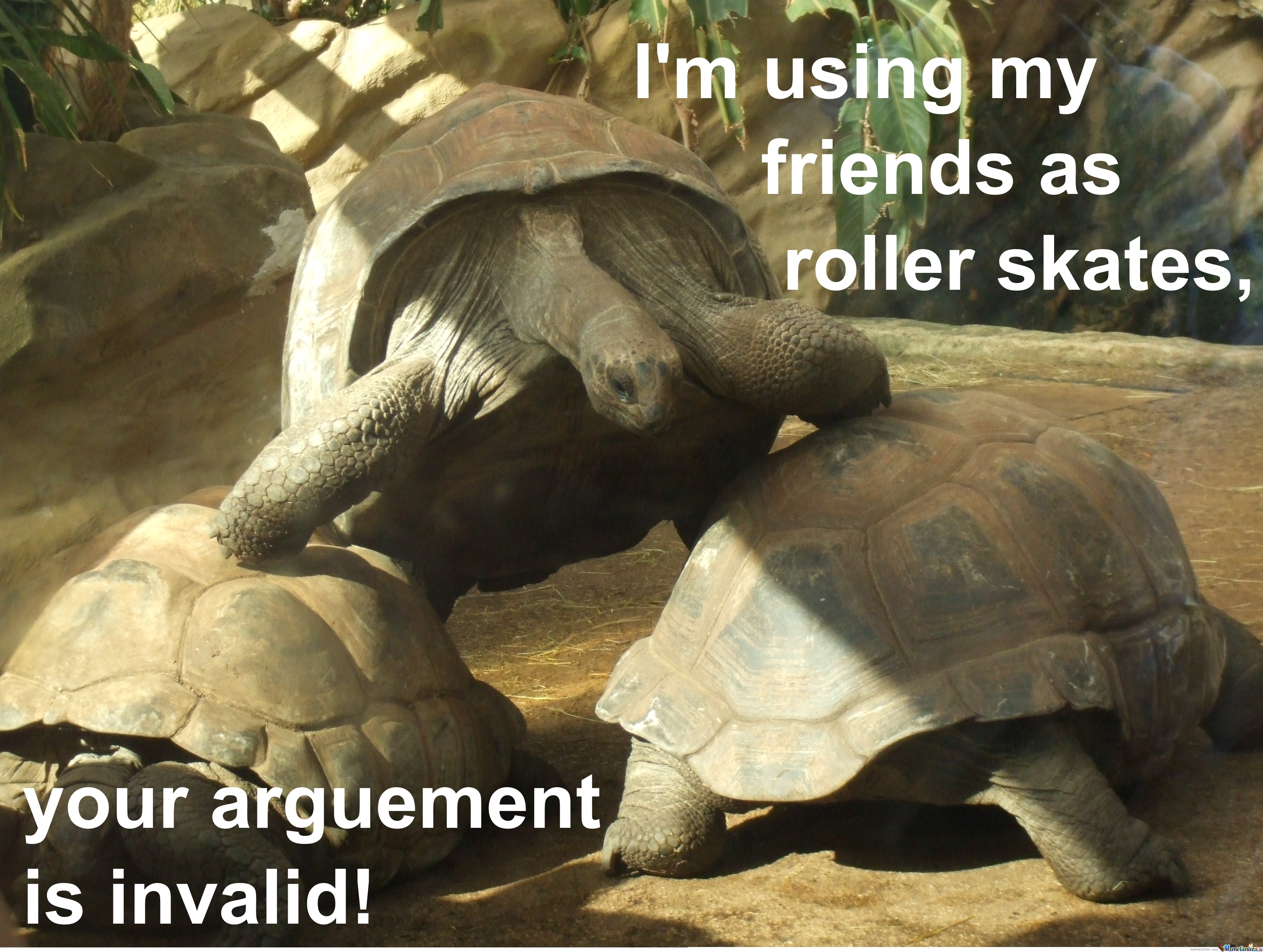 Your Arguement Is Invalid