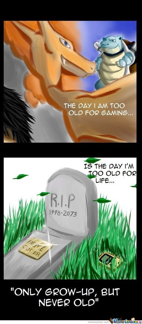 Your Childhood Never Dies.
