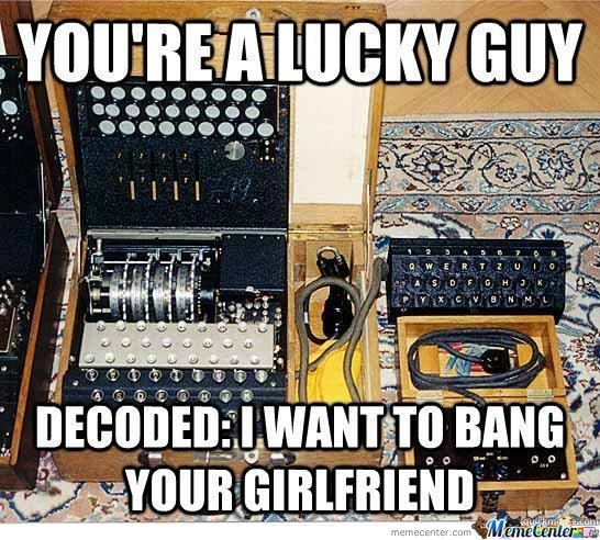 You're A Lucky Guy. Decoded