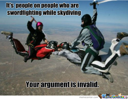 You're Argument Is Invalid