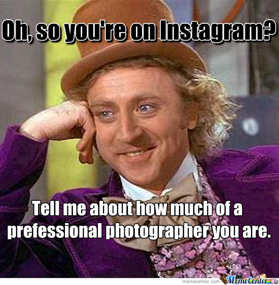 You're On Instagram?