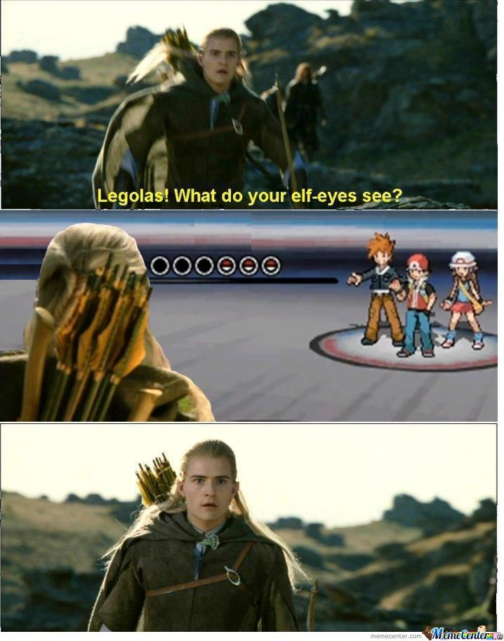 You're Screwed Legolas!