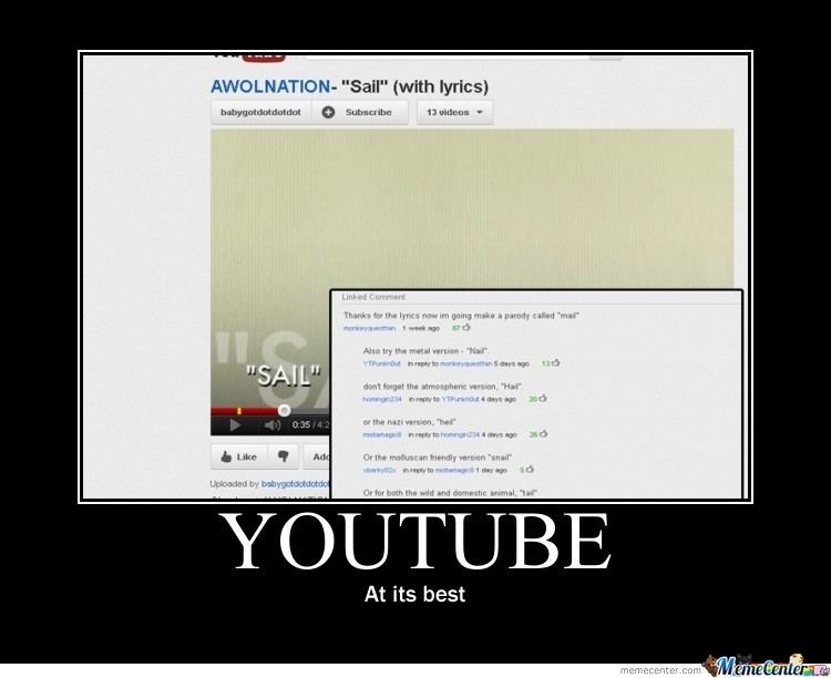 Youtube - At Its Best