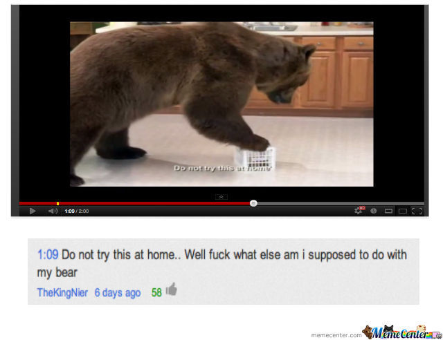 Youtube Comments At Its Best....