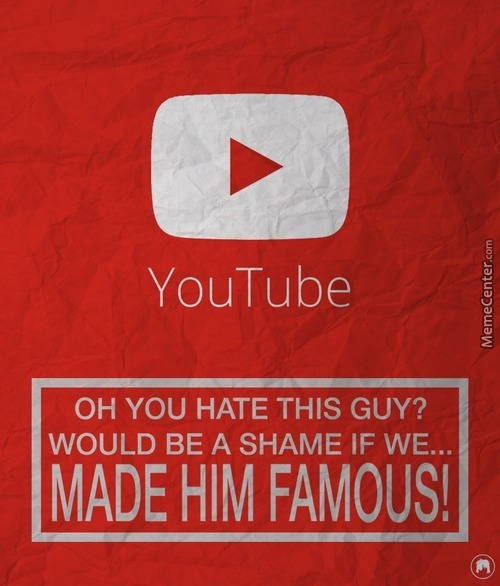 Youtube, Making Stupid People Famous Since 2005