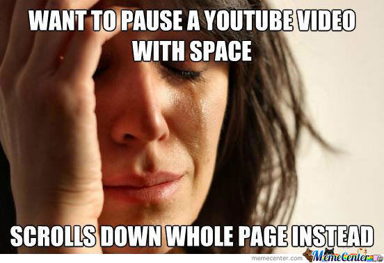 Youtube Problems