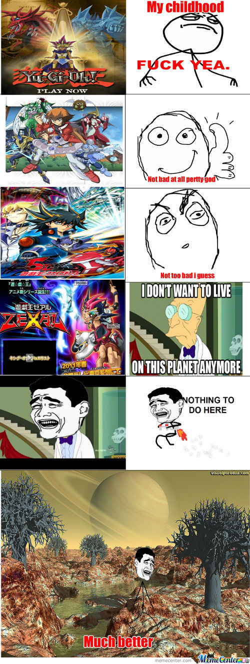 Yugioh Zexal Is Pretty Stupid