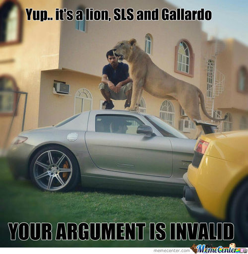 Yup.. It's A Lion, Sls And Gallardo