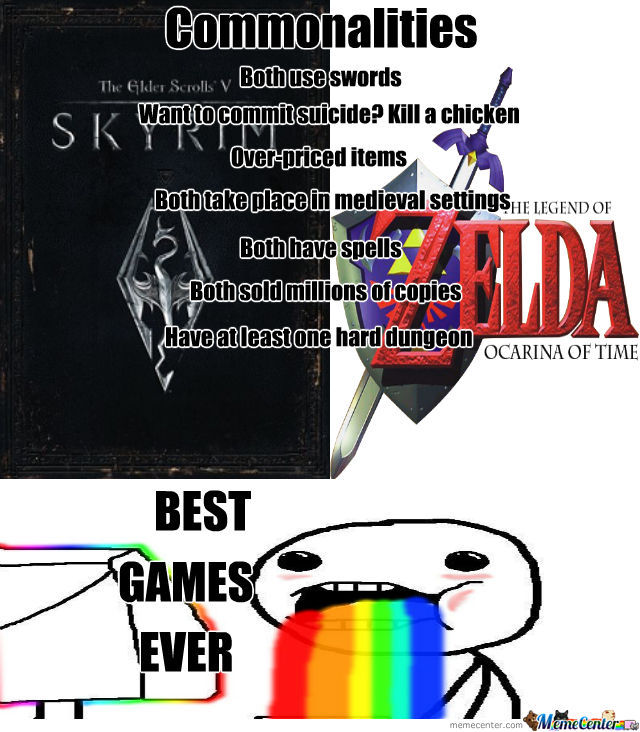 Zelda And Skyrim Forever!