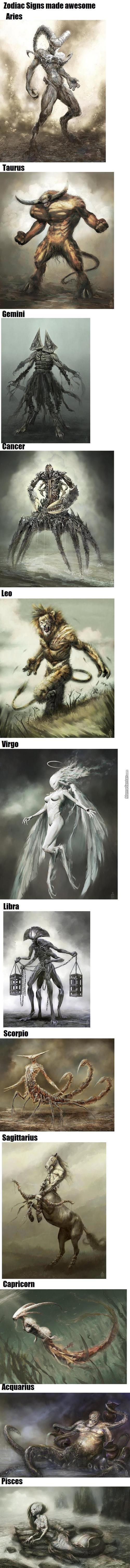 Zodiac Signs Made Epic