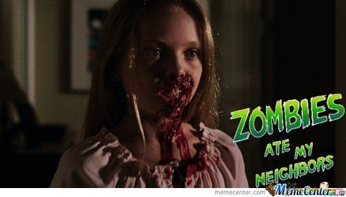 Zombie Ate My Neighbors