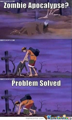 Zombies Get Luffy