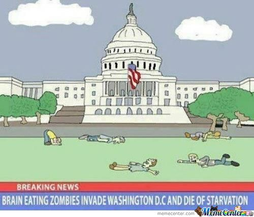 Zombies Invade Washington