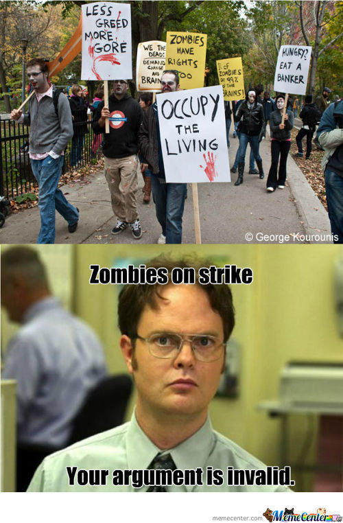 Zombies On Strike