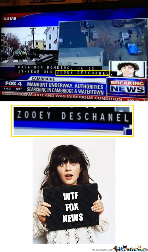 Zooey Deschanel Was A Suspect