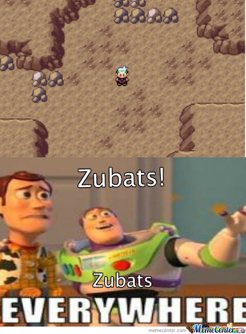 Zubats Everywhere!