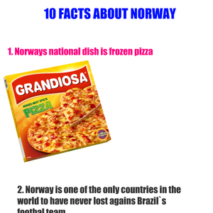 Funny things about norwegians