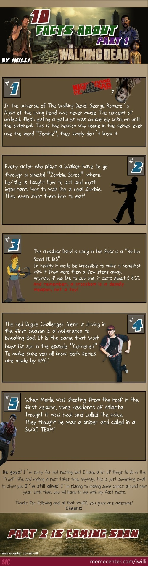 10 Facts About: The Walking Dead - Part 1