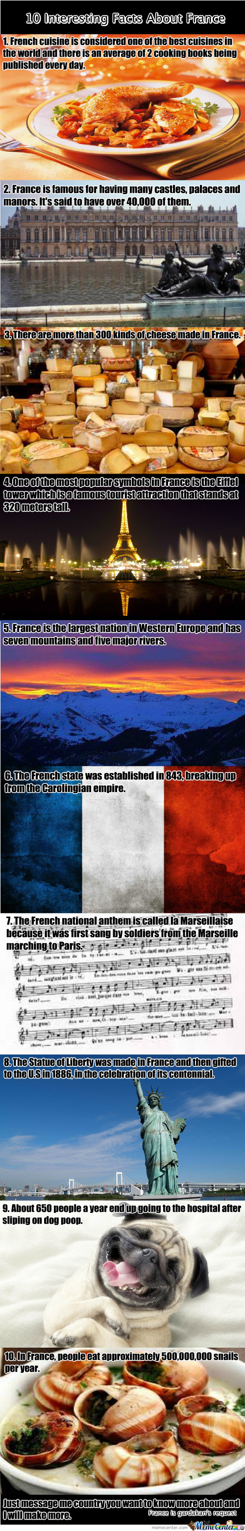 10 Interesting Facts About France