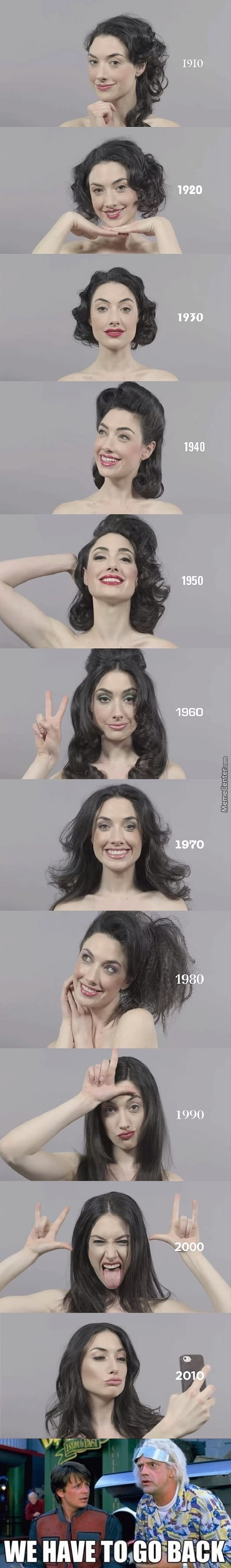 100 Years Of Beauty (I Think I'm In Love With 40's Look)