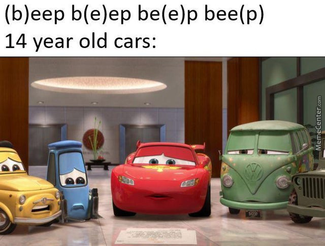 14 Year Old Cars Be Like