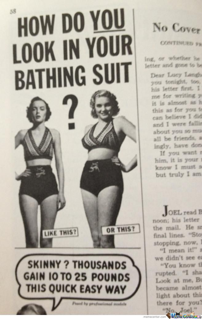 1950--> How To Become Chubby !