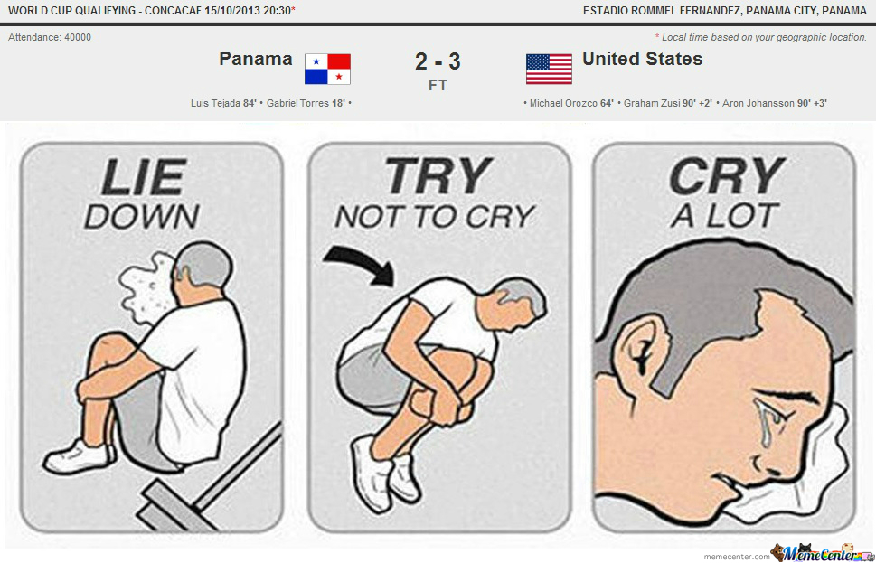 2 minutes away from the world cup its a sad day for panamenians its a sad day for panamenians voltagebd Image collections