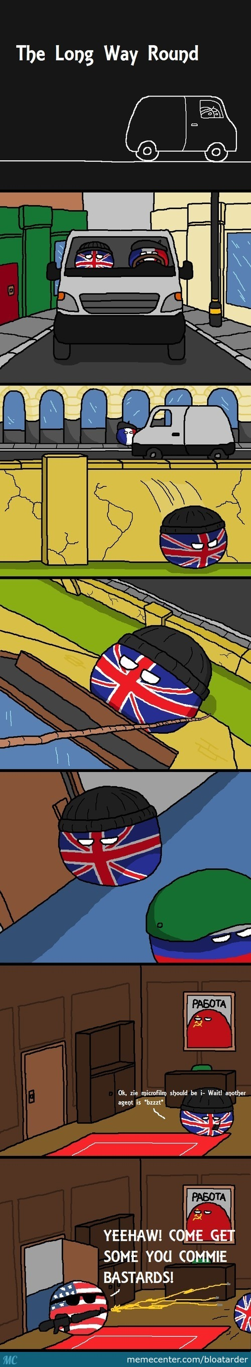 2 Types Of Countryballs