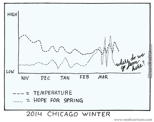 2014 Chicago Winter Infographic