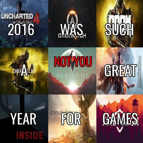 2016 Games In A Nutshell.