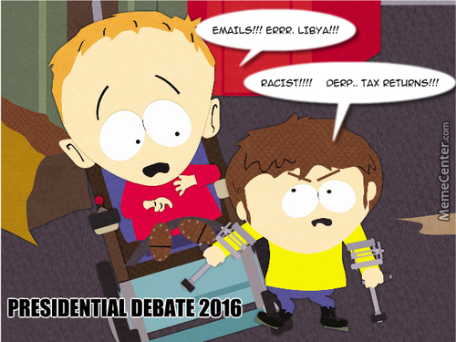 2016 Presidential Debate