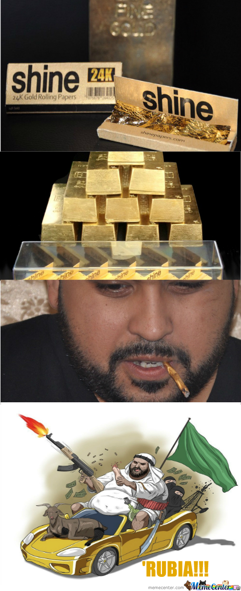 24K Gold Rolling Papers Only In 'rubia